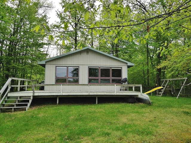 2BR Longville Cabin w/Pristine Lake Views!