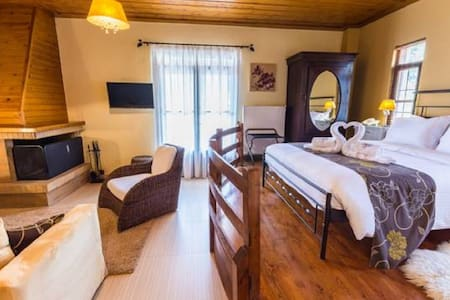 Charming Suite with Panoramic View in Taygetus