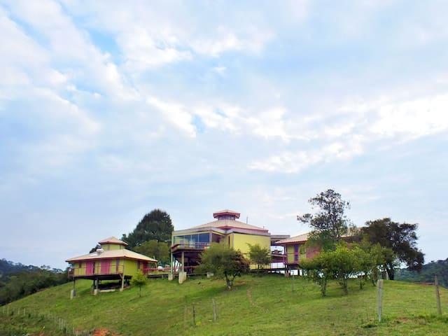 Serra da Mantiqueira, casa com vista deslumbrante