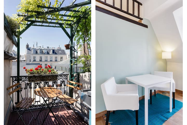 MANGO - Balcony studio - Marais - Parijs - Appartement