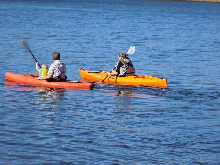 Lakeside Retreat Stillwater 250' Private Beach a