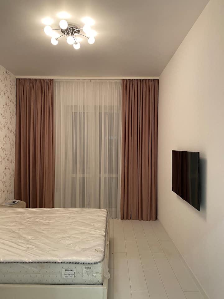 Новая 2-комнатная квартира с евроремонтом.