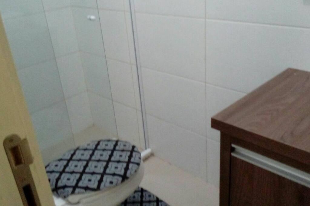 Banheiro do quarto!