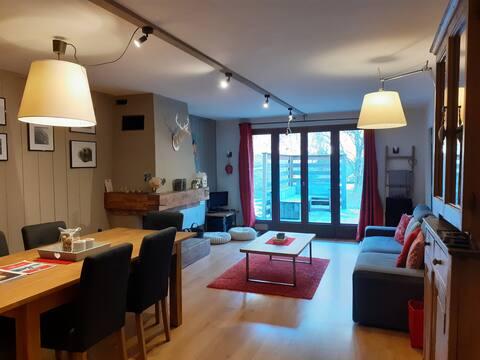 Apartment with garden Servoz, Chamonix Valley