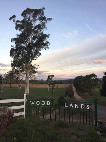 Woodlands Farm Driveway Entrance