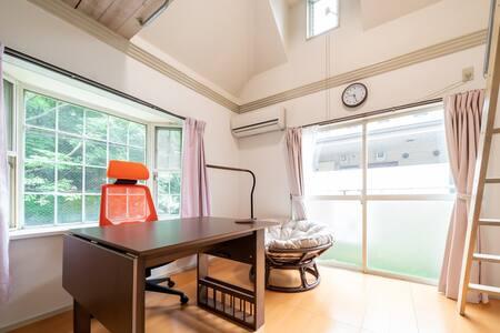 Private Bath & Kitchen Superior Room/2 Bikes  B201