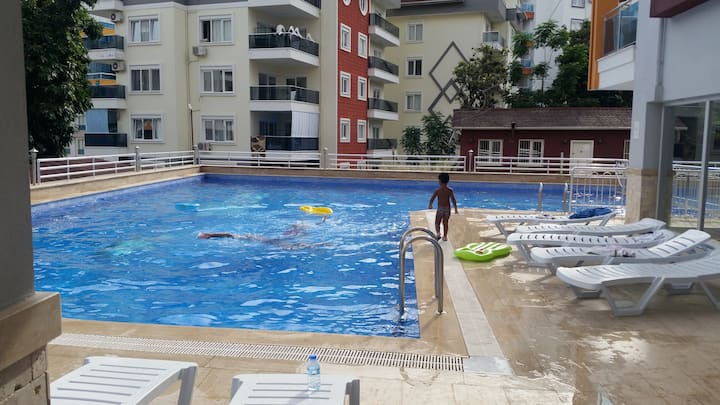 Tosmur rezidans/sauna, fitness, swimmingpool