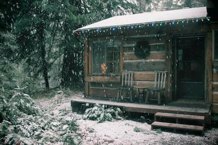 Rustic Sandy River Cabin  - Rhododendron