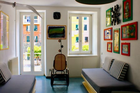 APARTMENT IN VERNAZZA CENTER WITH A SEAVIEW