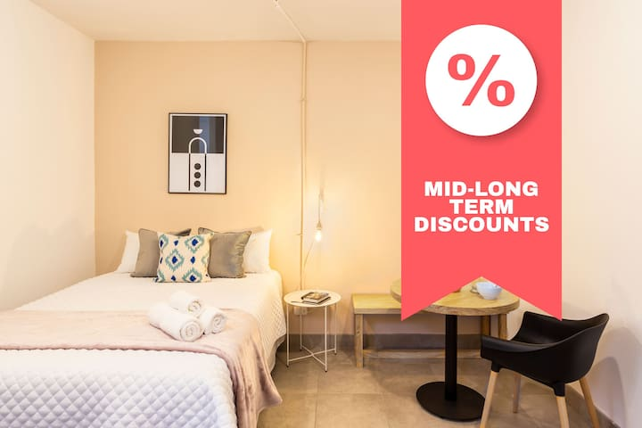 ✸DISCOUNT✸ Fully Equipped Apartment / 2 PPL