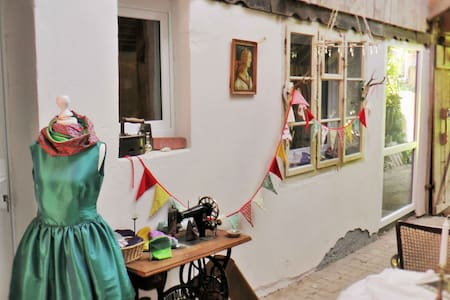 Näh-Atelier mit Himmelbett - Dom
