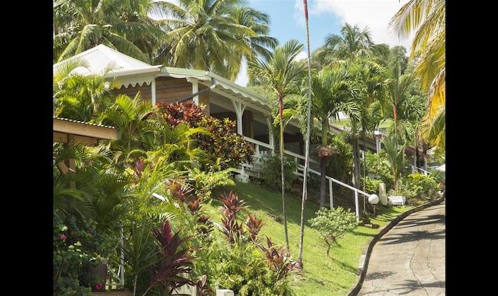 Location Petit Paradis Villa T3, Vue mer, Piscine