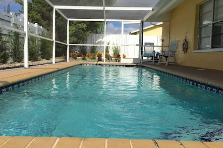 Your Tropical Paridise with heated pool