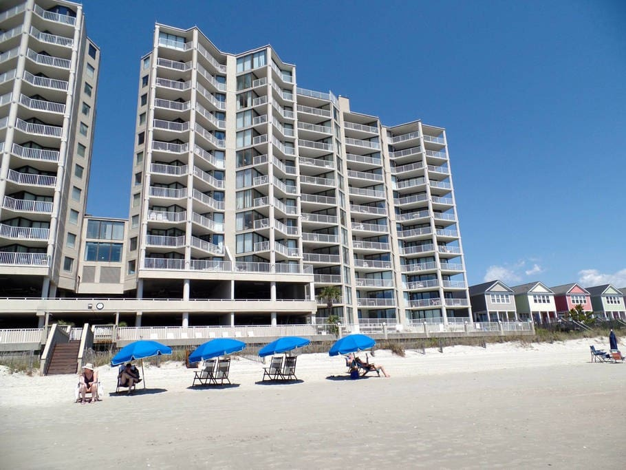 Direct Ocean Front Condo One Ocean Place Condominiums For Rent In Garden City South Carolina