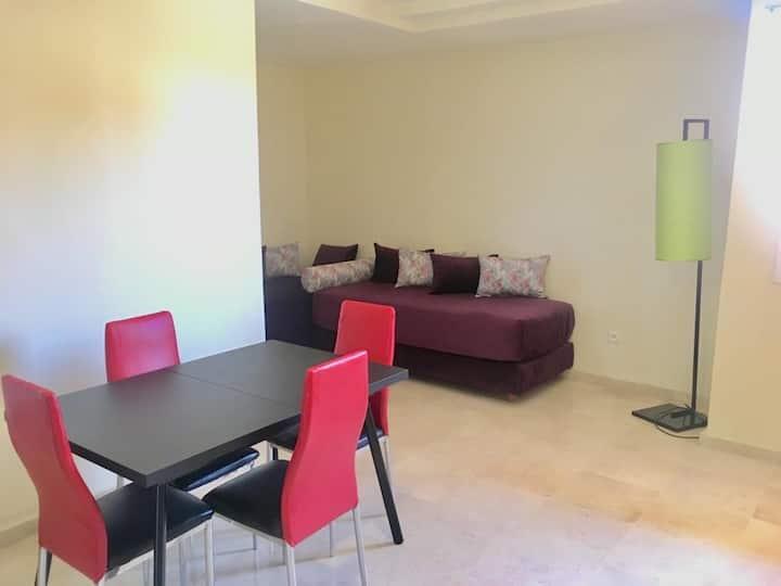Magnifique appartement au cœur de marrakech 4/p