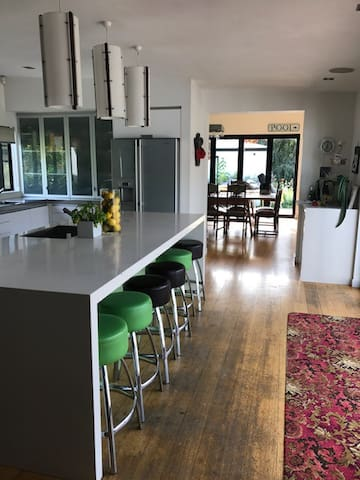 View of Kitchen to Dining Room