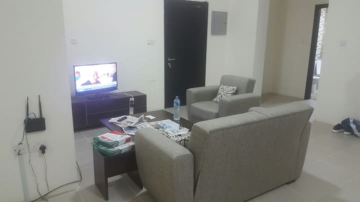 1 room with sharing living room