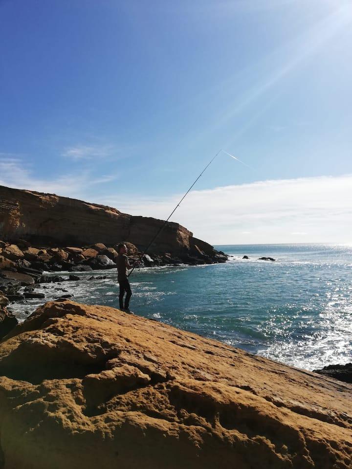 South coast fishing spot