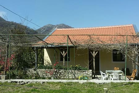 Charming guesthouse near Skadar lake - Godinje - Haus
