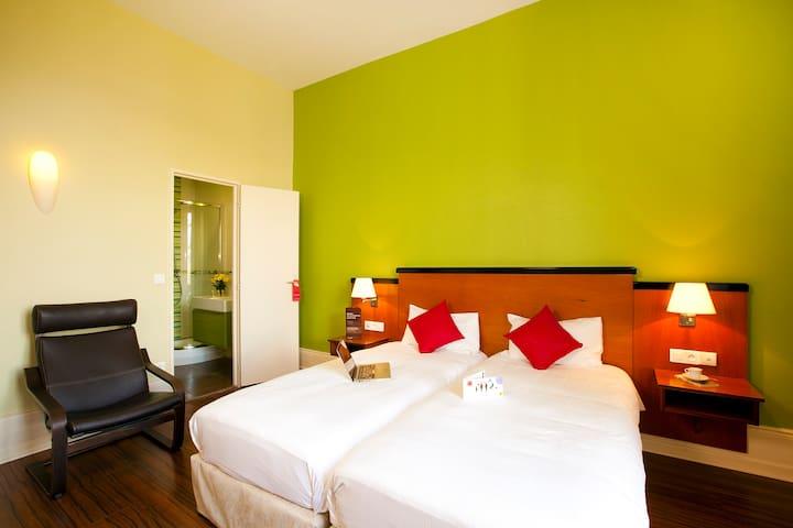 Appartement lits jumeaux à Luxeuil - Luxeuil-les-Bains - Huoneisto