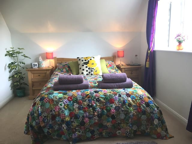 A Double Room with Ensuite  in Rural West Sussex
