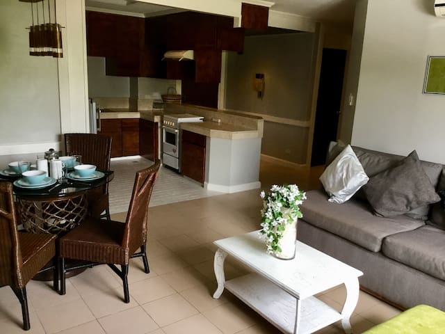 A large 1 Br unit Maria Luisa Banilad Streetscape