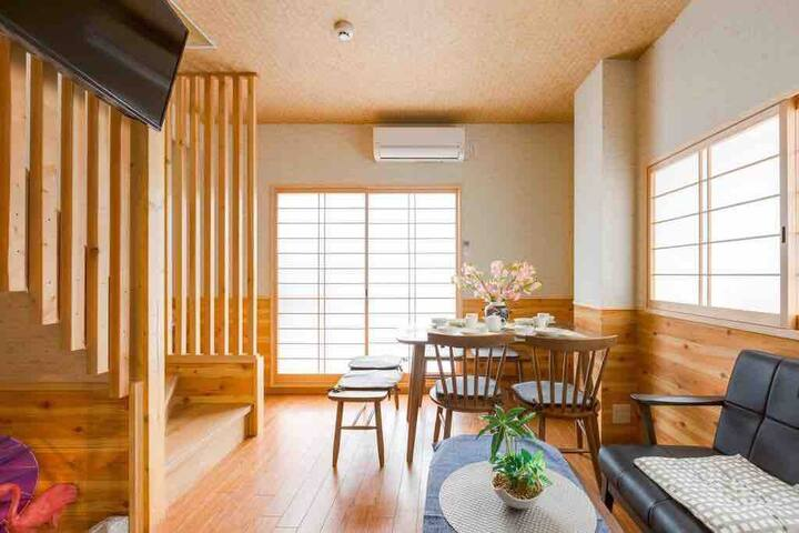 Your large warm home in japan osaka tsutenkaku