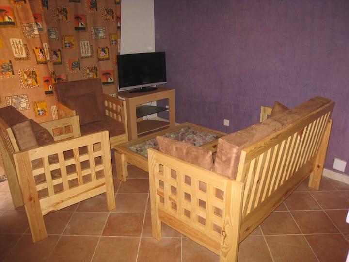 Logement 30 m² dans villa à 50 m de la mer
