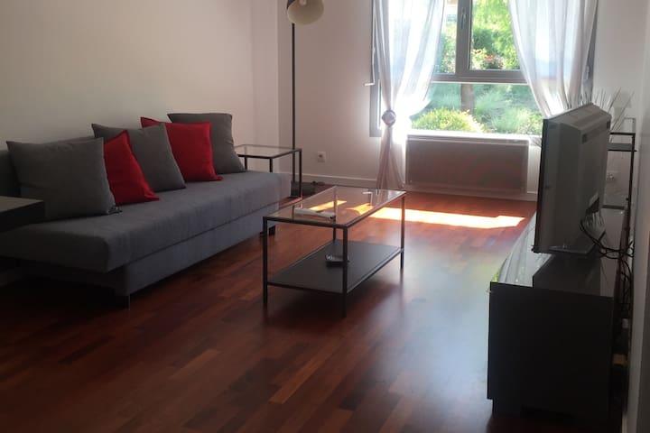 Appartement lumineux avec Parking & vue Jardin - Bordeaux - Apartament