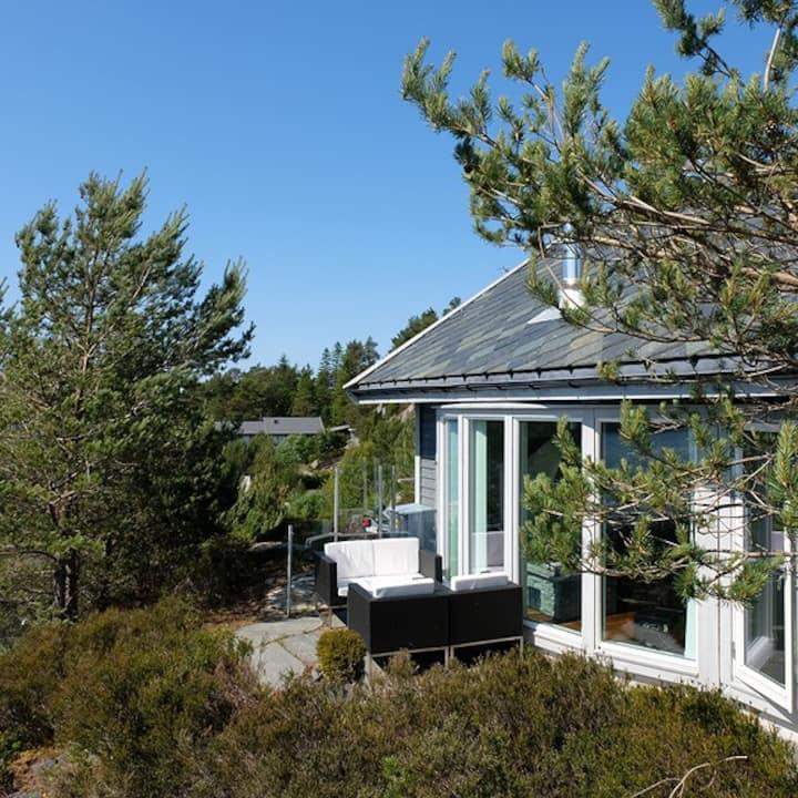 Fantastisk flott feriehus til leie!