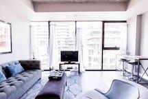 Luxury Fashion District Suite