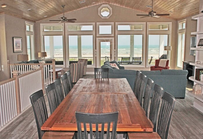 Beauty and the Beach -  6 BEDROOM BEACHFRONT HOME - Port Aransas - House