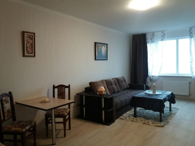 Sunny newly built 2room studio apartment with view - Truskavets - Lägenhet