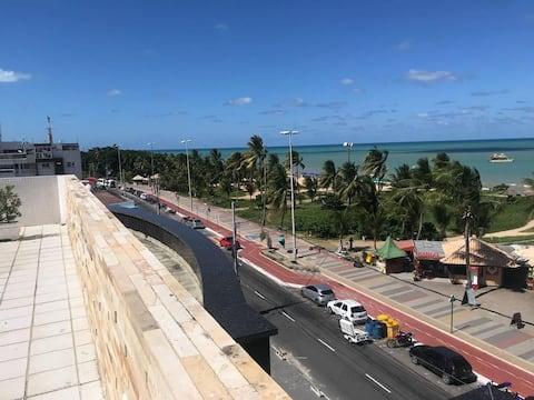 Flat no lugar mais charmoso de Tambaú - IMPERIAL