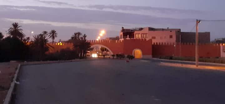 Maison traditionnelle Tiznit Maroc sud