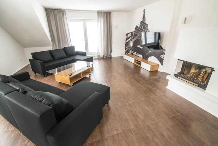 Apartment in city center with terrace