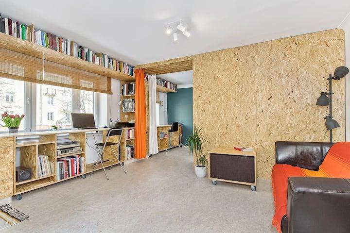NEW / Artistic studio / city centre/self check-in