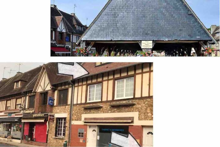 Appartement au cœur d'un petit village eurois