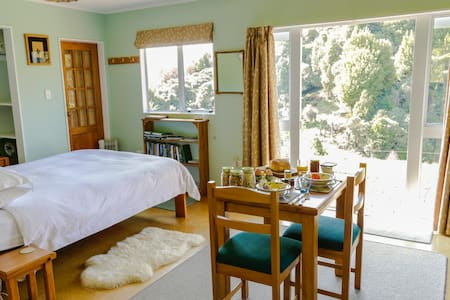 Berrys Bush Lodge B&B Dble studio. - Ohakune - Bed & Breakfast