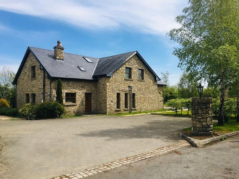 Private gated entrance and large space in Kilkea.