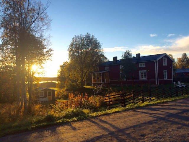 The little house on the Swedish prairie. - Hössjö