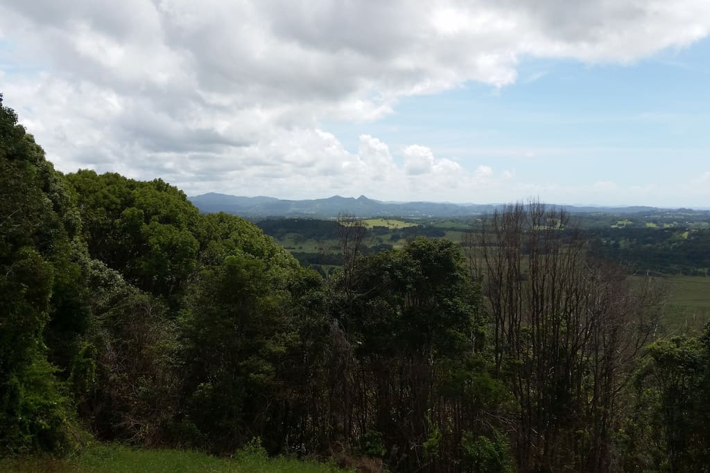 West view from the lounge  of Mount Chincogan.