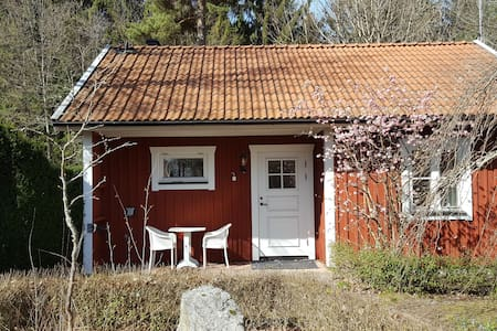 Cottage set in beautiful garden in Sweden