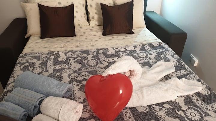 Un nido d'amore nella Taormina di oggi