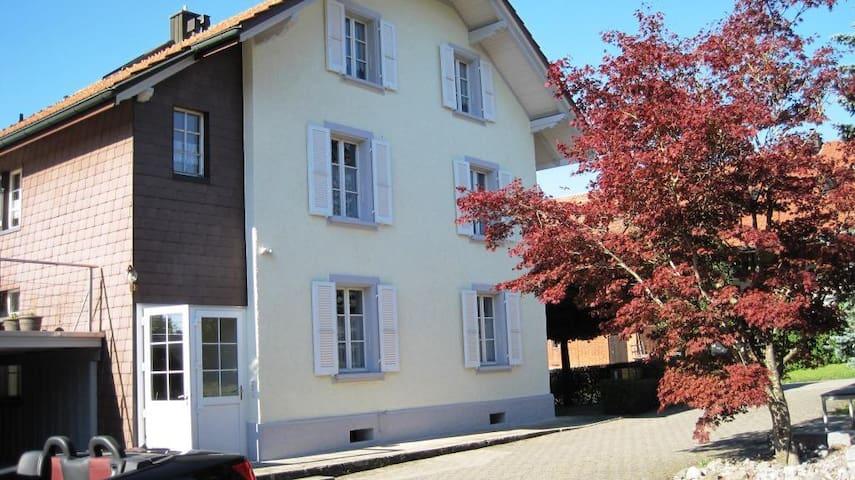 Gemütliche Wohnung Grossraum Solothurn