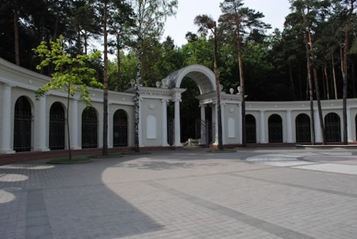 2-Комнатная квартира на сутки в центре Минска - มินสค์