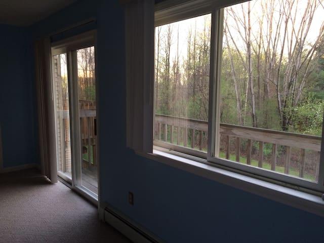 Private bedroom/bath GREAT location - South Burlington - Leilighet
