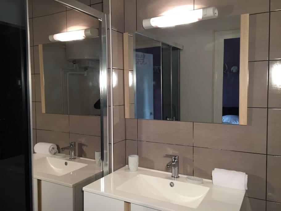 Salle de bain / douche à l italienne