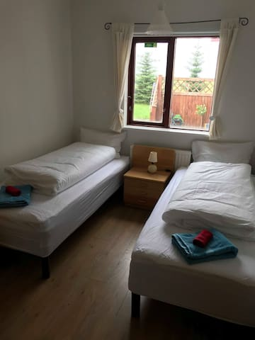 One of our twin bed bedrooms.