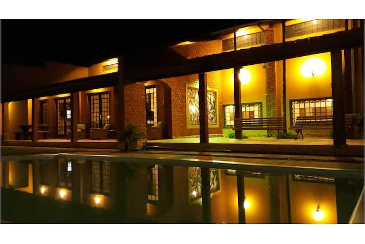 Espaço Casa Rústica Para você e sua família!
